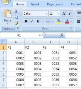 Membuat Numerator Dengan Coreldraw Dan Microsoft Excel Satutempat